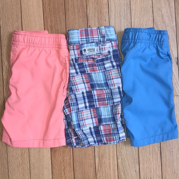 555090e312aa OshKosh B'gosh Bottoms | Toddler Boy Shorts 3t Set Of 3 | Poshmark